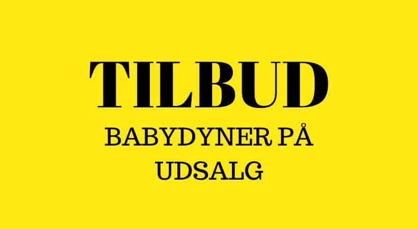 Babydyner på tilbud