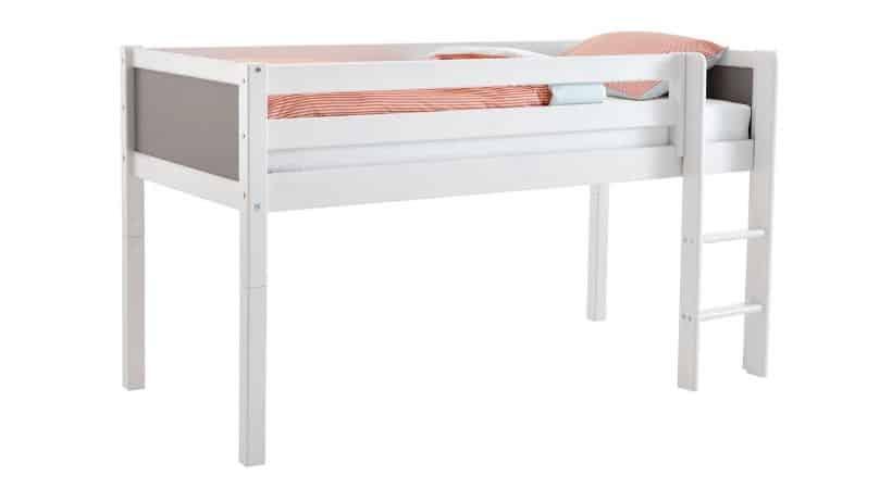 Halvhøj seng - Flexa BASIC