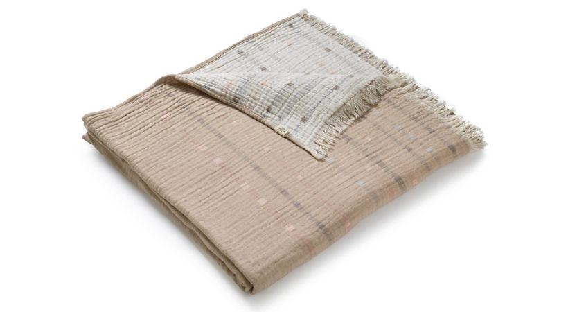 Økologisk sengetæppe