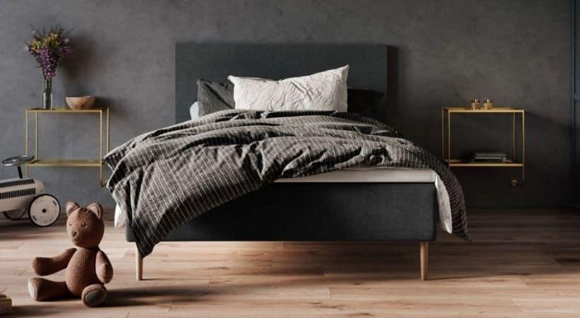 Atlas Wood boxmadras - Billig 140x200 seng