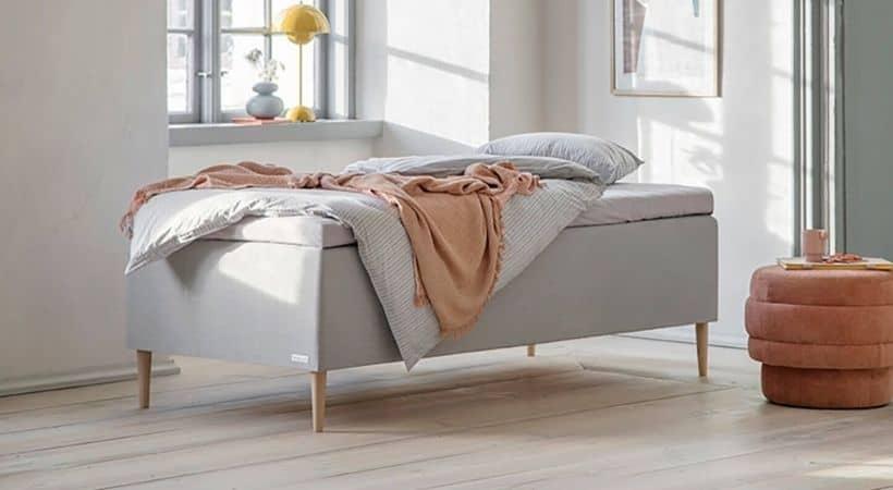 Prestige 120x200 seng - Højkvalitets boxmadras (25 års garanti)