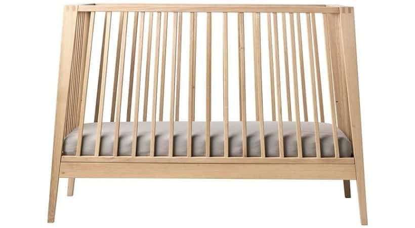 Tilbud på Leander babysenge, vugger og madrasser