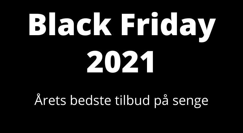 black friday tilbud seng