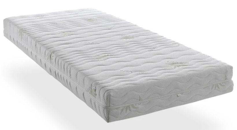 Cloud Silver - 90x200 madras med komfortskum & memory skum