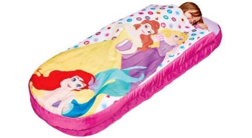 Disney junior-sovepose med luftmadras - Prinsesse