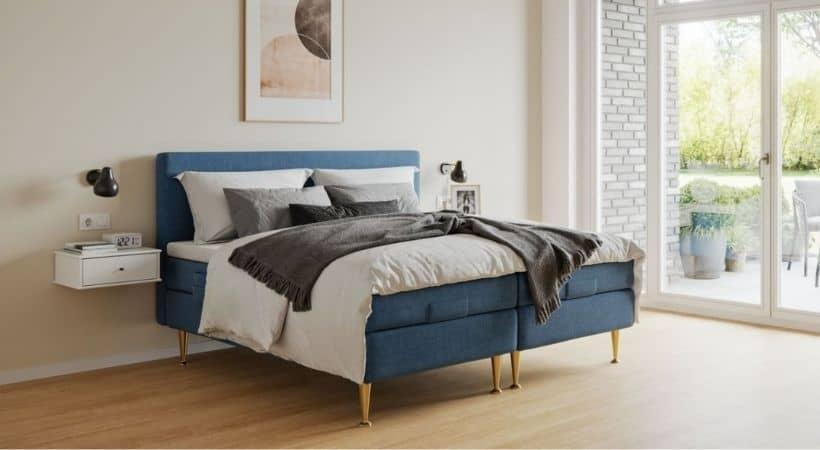 Haven - Smuk seng med elevation og gavl (tilkøb)
