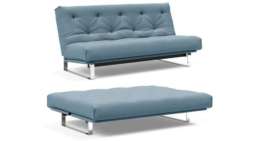Multifunktionel sovesofa i stilrent design