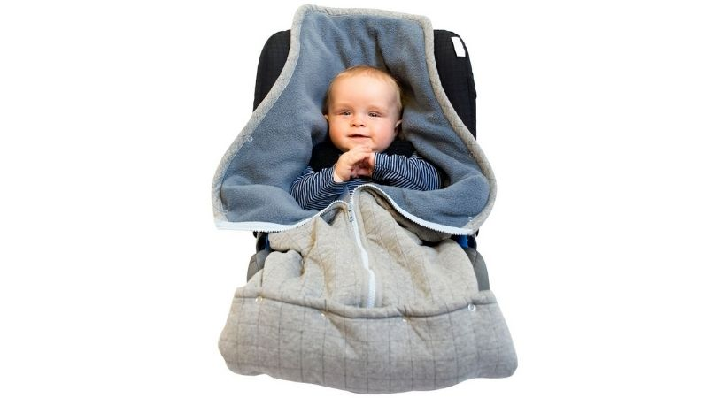 Smart Baby kørepose - Fleece-sovepose til autostol