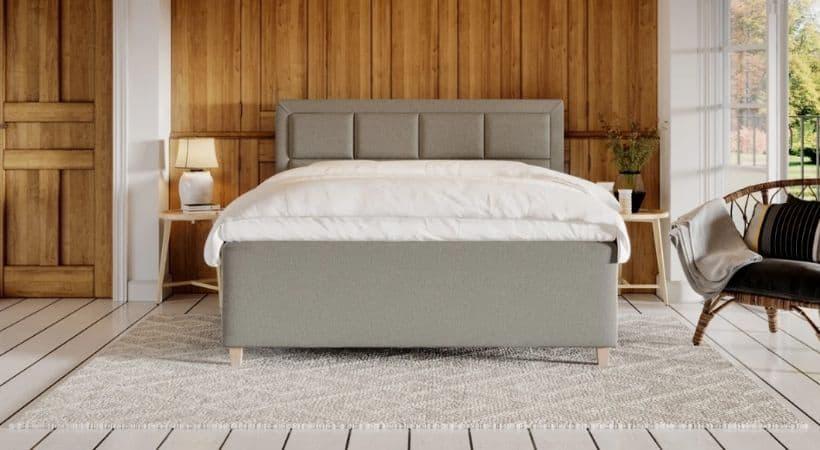 Solveig - Elegant grå 160x200 kontinentalseng