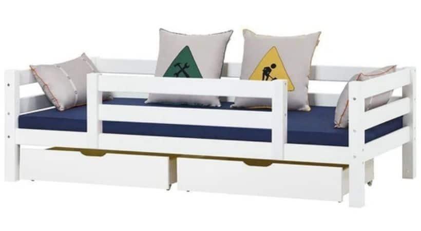 Hoppekids Premium - 90x200 seng med ½ sengehest