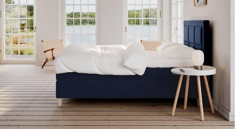 Snefrid - Danskproduceret 140x200 kontinentalseng med 7 komfortzoner