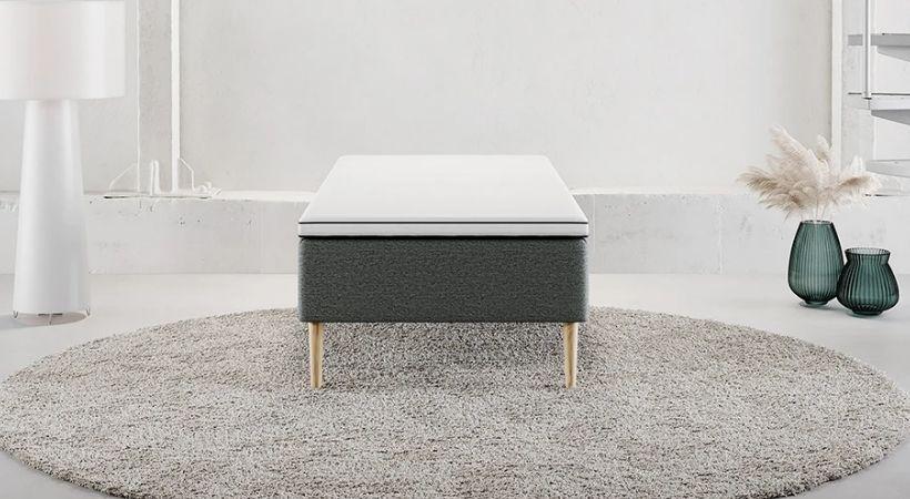 Trondheim - 90x200 boxmadras med valgfri fasthed (Medium, fast eller ekstra fast)