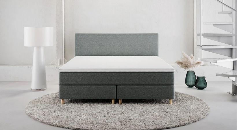 Trondheim - Luksuriøs dansk 200x200 cm seng