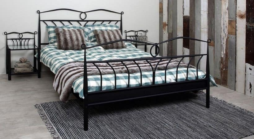 ACT NORDIC Line - 180x200 sengestel i metal