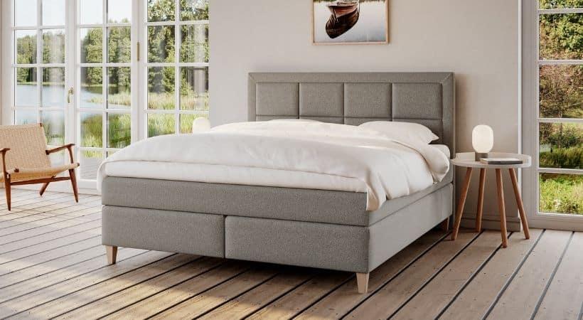 Snefrid - Højkvalitets 180x210 seng med 7 komfortzoner