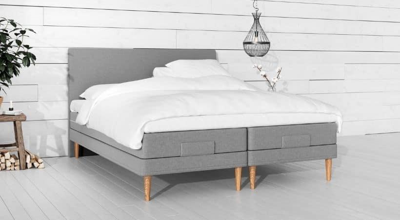 Yrla - Billig 180x210 seng med elevation
