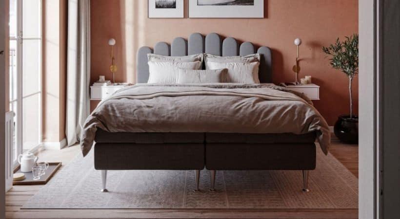 Haven - 210x210 seng med Svanemærket topmadras