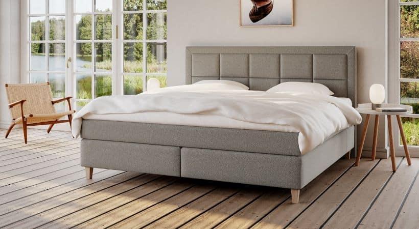 Snefrid - Danskproduceret 210x210 seng