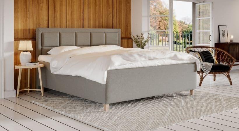 Solveig - 210x210 seng med 7 komfortzoner